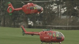 Wales Air Ambulance helicopters