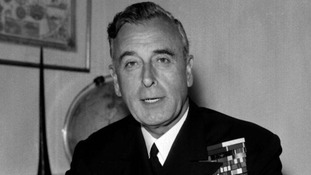 Lord Mountbatten pictured in 1959.