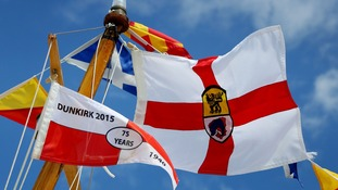 The Association of Dunkirk Little Ships Flag among others.