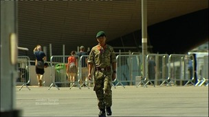 Soldier at Olympic Park