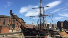 Earl of Pembroke Ship at Gloucester Docks