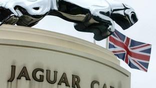 Jaguar Landrover's Castle Bromwich factory in Birmingham
