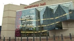 Birmingham's Symphony Hall hosts tonight's celebration
