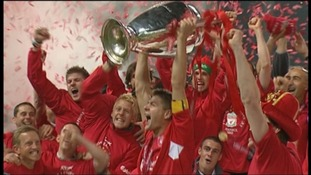 Unseen footage of Liverpool's Champions League win