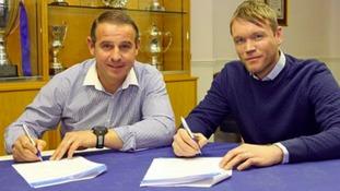 Dave Robertson and Grant McCann