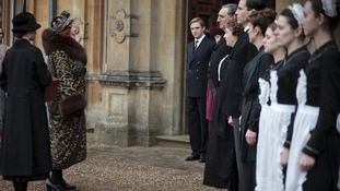 Shirley MacLaine as Martha Levinson in the third series of Downton Abbey.