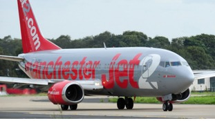 Jet2 plane on runway