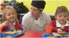 Kate Davies has won School Chef of the Year
