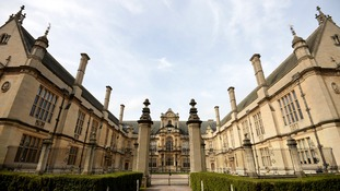 General view of the Oxford University Examination School in Oxford