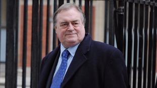 Former deputy prime minister Lord Prescott