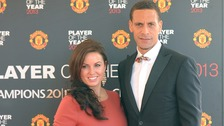Rio Ferdinand 'overwhelmed' by support by football fans.
