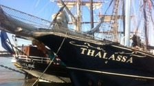 Tall ship in Tilbury