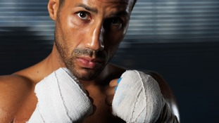 London boxer James DeGale, Olympic champion in 2008.