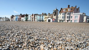 The beach at Aldeburgh, Suffolk