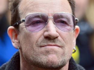 File photo dated 15/11/14 of U2 frontman Bono.