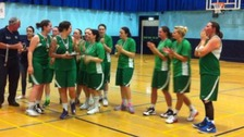 Guernsey's women celebrate their victory