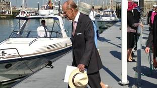 Duke of Edinburgh on the Isle of Wight