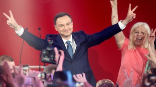 Andrzej Duda of the Law and Justice Party
