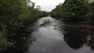 A walker raised the alarm at about 8.30 yesterday morning after making the discovery in the River Wharfe.