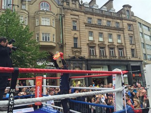Kell Brook holds open training session in Sheffield