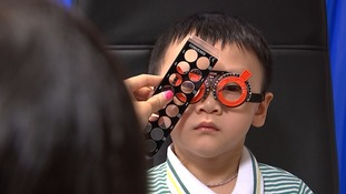 Rise in child eye problems blamed on heavy computer use