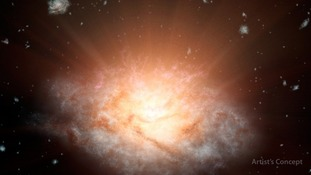Ancient galaxy discovered by astronomer from the University of Leicester