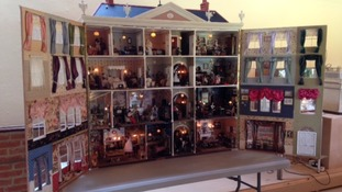 It's a small world: dolls' house collection goes on public display