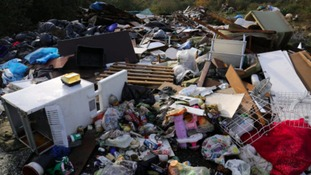 Warnings over fly-tipping rogue traders