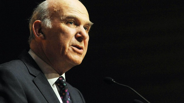 Vince Cable GDP figures