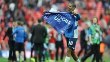 Jermaine Beckford has said he hopes the shirt goes to the 'kid who caught it'.