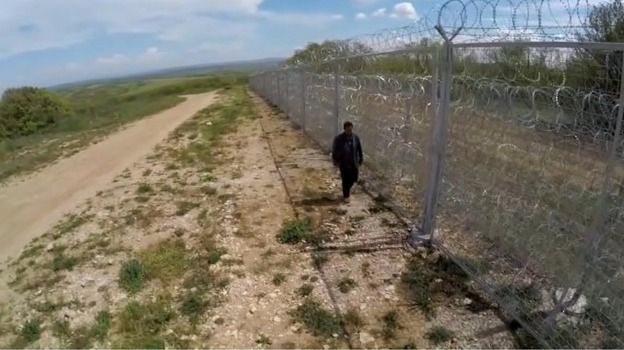 Barbed Wire Fencing Erected Along Bulgaria S Border With