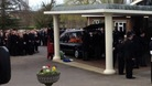 The funeral of PC David Rathband