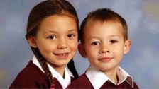 Christi and Bobby Shepherd were aged seven and six when they died