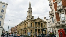 Hinde Street Methodist Church in central London