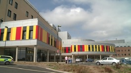The seven patients are being treated at the University Hospital of North Staffordshire