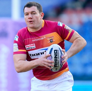 Huddersfield's England forward Brett Ferres has rejected advances from the NRL to commit his future to the Super League club.