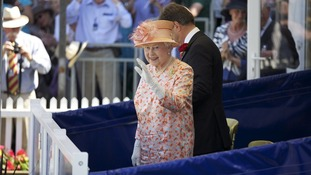 The Queen at the New Forest Show