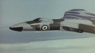 The Vulcan Bomber was built to help carry Britain's first nuclear bombs
