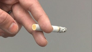 Stock photo of a cigarette
