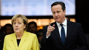 Angela Merkel meets David Cameron in January