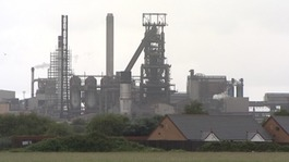 Tata Steel works in Port Talbot