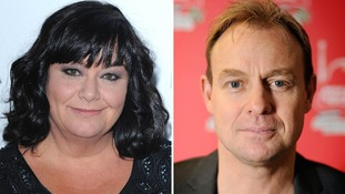 Dawn French and Jason Donovan formed part of the judging panel on Superstar.