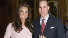 The Duke and Duchess of Cambridge will welcome cheer on the Olympic Torch at Buckingham Palace.