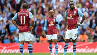 Aston Villa have had their hopes of FA Cup Glory dashed by Arsenal.