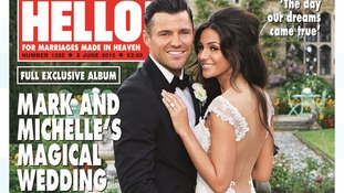 Ex-Towie star Mark Wright and Corrie's Michelle Keegan have tied the knot.