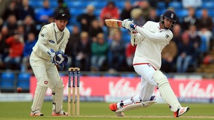 Broad levels things up for England