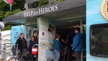 Help for Heroes stand