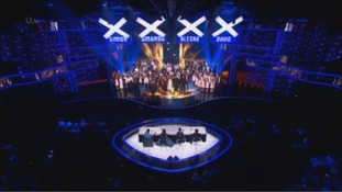 The choir in last night's final