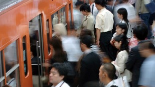 The body was found in a suitcase in a locker at Tokyo station in Japan