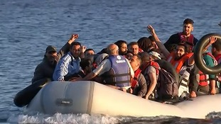 More migrants arrive in Greece daily.